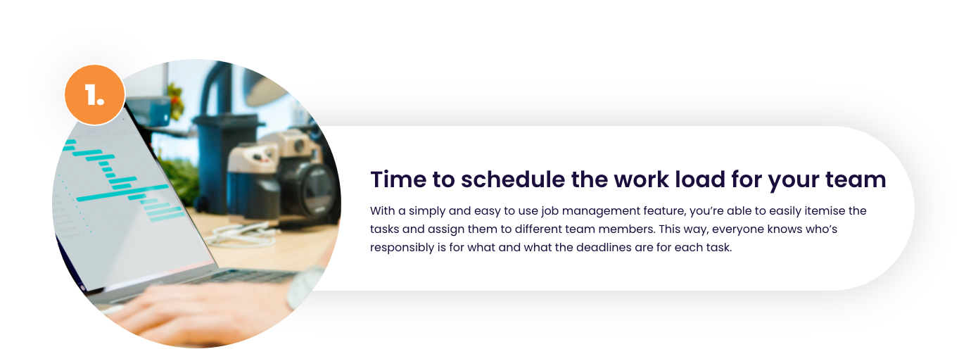 Job scheduled