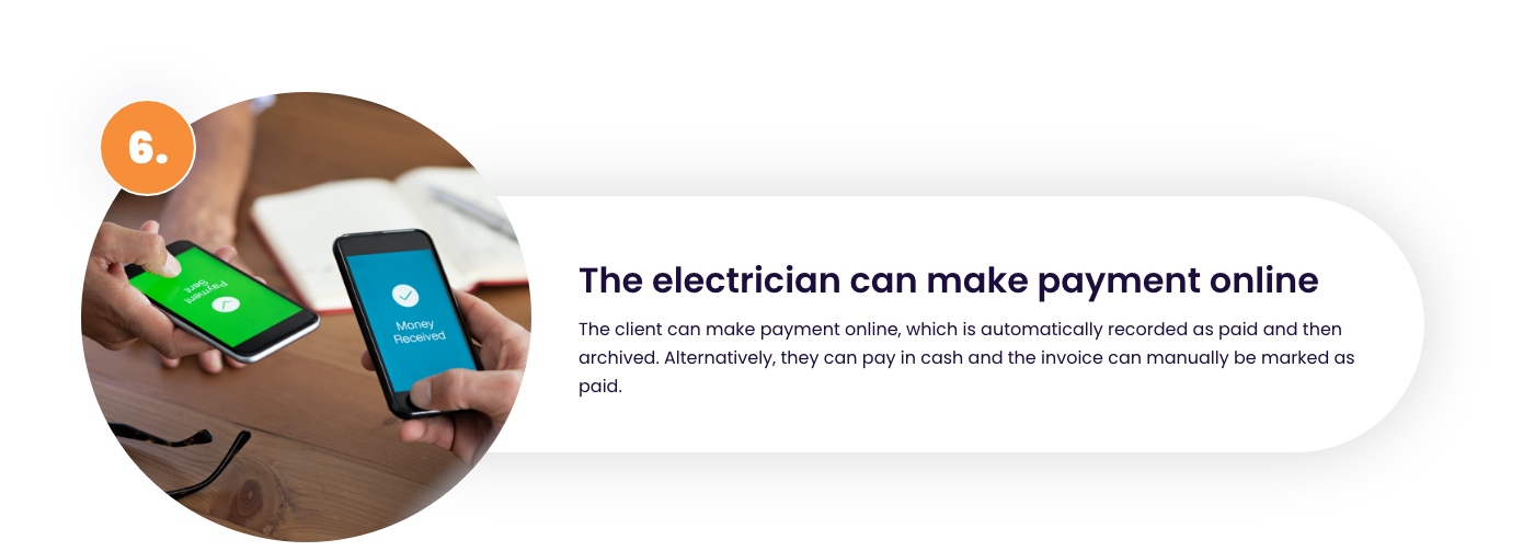 recieve payments